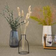 La glass Angle glass vase