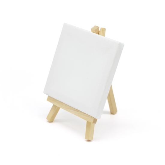DIY 미니 이젤 캔버스 [0호/1호] -면천 캔버스 액자 만들기 재료