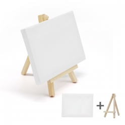 DIY 미니 이젤 캔버스 [1호] -면천 캔버스 액자 만들기 재료